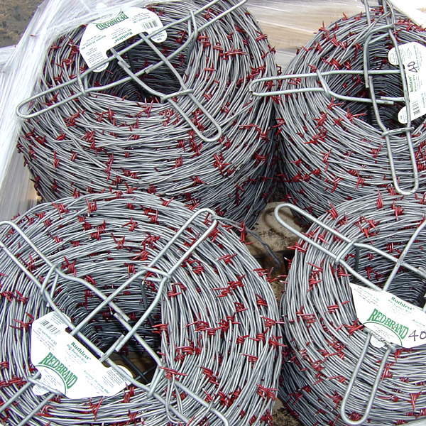 Barbed fence supply wire fencing